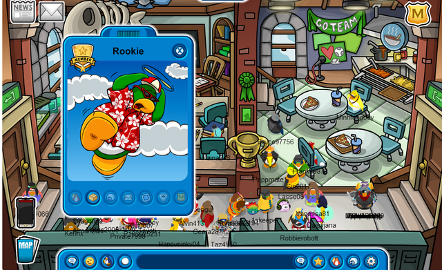 File:(Club Penguin - Meibunny) I met Rookie!!!..png