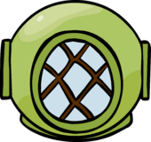 Divers Helmet clothing icon ID 457