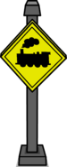 Train Crossing Sign sprite 002