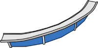 C-Curve Ramp furniture icon
