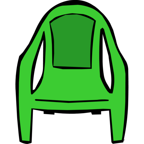 File:Green Plastic Chair.png