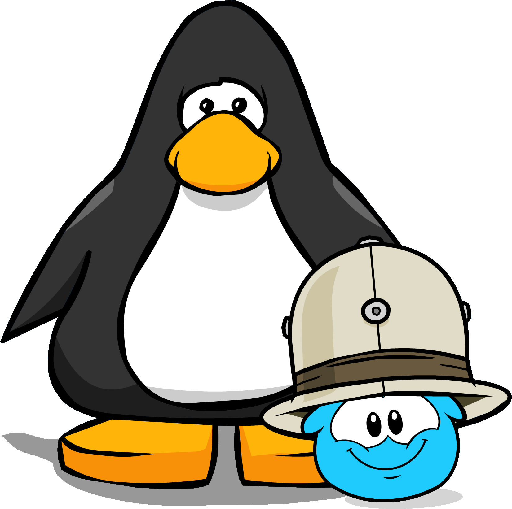 File:Safari Hat (Puffle Hat) on Player Card.png