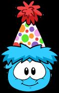 Mini Polka Dot Puffle Hat in Puffle Interface