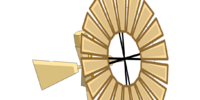 Windmill Pin