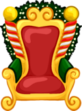 Santa Chair furniture icon ID 591