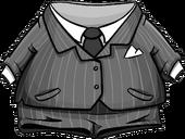 Grey Pinstripe Suit