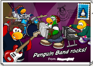 Penguin Band New look