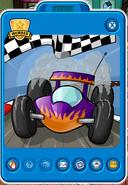Purple race cars