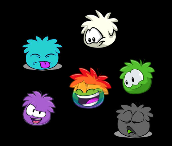 File:Teal with Other Puffles.PNG