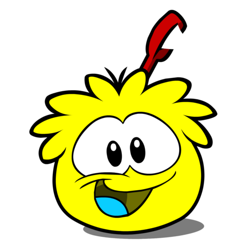 File:Yellow Puffle paper.png