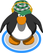 Green Indie Hat in-game