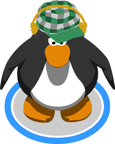 File:Green Indie Hat in-game.png