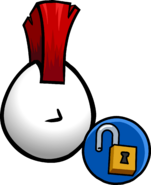 Red Mohawk old unlock icon