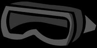 Black Scuba Mask