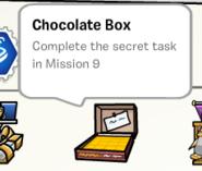 Chocolate box stamp book