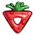 Red berry icon