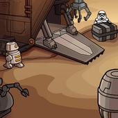 Tatooine Sandcrawler Background photo