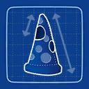 Blueprint Pizza Costume icon
