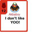Akbaboy Card