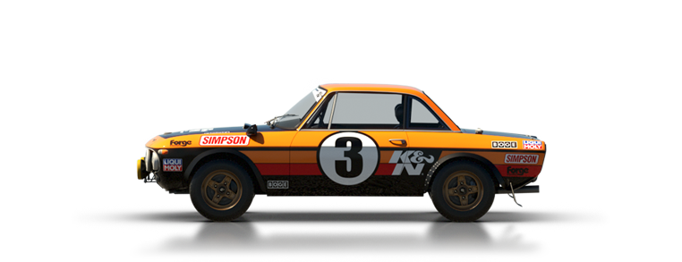 DiRT Rally Lancia Fulvia HF