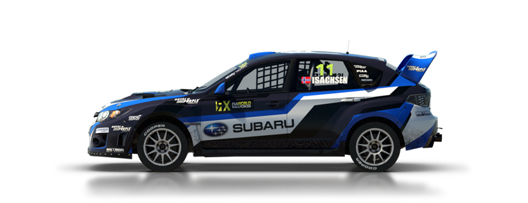 DiRT Rally Subaru WRX STI