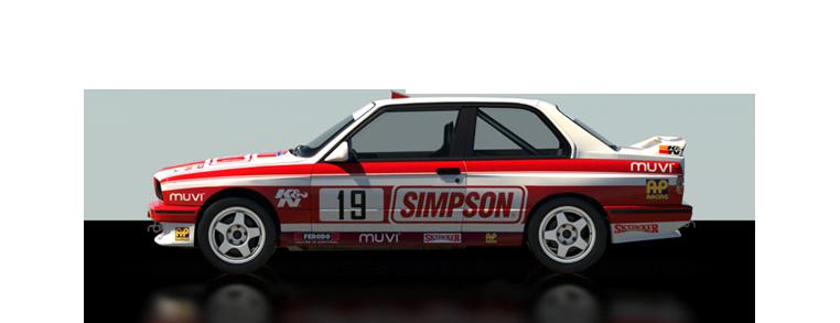 DiRT Rally BMW E30 M3 Evo Rally