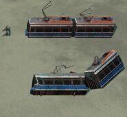 Railway transport in Tiberium Wars(6)