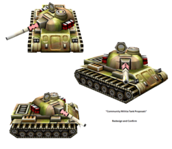 SAU Militia Tank Proposals
