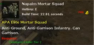 APA Napalm Mortar Squad 01