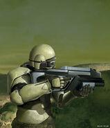 CNCT Rifleman concept art
