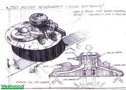 RA2 Jet Assisted Hovercraft Concept