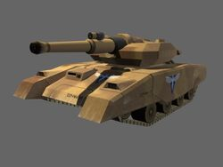 Ren 2 Light Tank Render