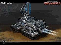 RA3 Prism Tank Concept Art