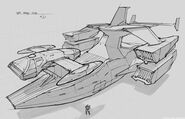 CNCTW Dropship Concept Art 3