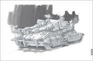 CNCRen2 Apocalypse-Mammoth Tank concept