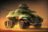RA3 Soviet Bullfrog