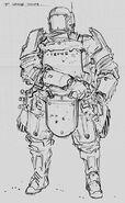 CNCTW Grenadier Concept Art 3