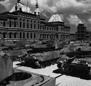 CNCRA2 Allied Parade in Moscow