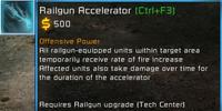 Railgun accelerator