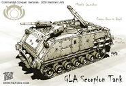 Scorpion Tank concept art