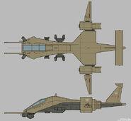 CNCTW Dropship Concept Art 1