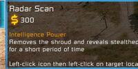 Radar scan