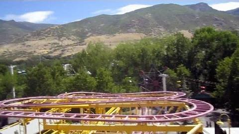 Wild Mouse front seat on-ride HD POV Lagoon