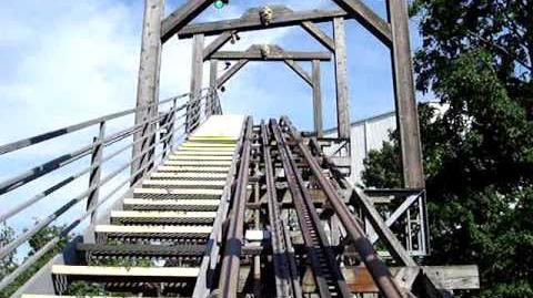 Adventure Express (Kings Island) - OnRide - (480p)