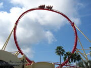 Hollywood Rip Ride Rockit non-inverted loop
