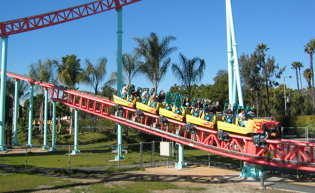 Xcelerator Roller Coaster FileXcelerator Brake Run jpg