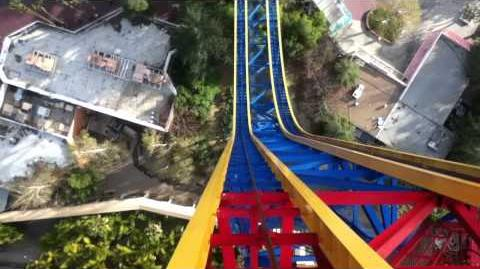 Superman Escape From Krypton (Six Flags Magic Mountain) - OnRide - (720p)