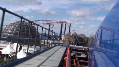 Irn-Bru Revolution (Pleasure Beach Blackpool) - OnRide - (720p)