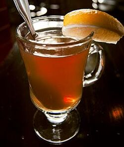 Toddy with Brandy
