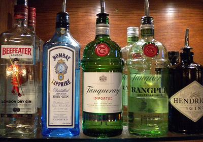 Gin brands